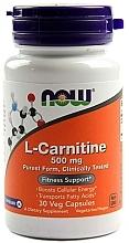 Parfumuri și produse cosmetice Capsule L-carnitină, 500 mg - Now Foods L-Carnitine