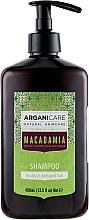 Parfumuri și produse cosmetice Șampon pentru păr uscat și deteriorat - Arganicare Macadamia Shampoo