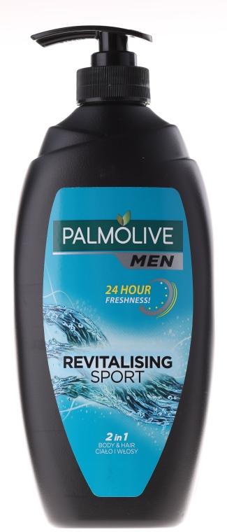 "Gel-cremă pentru duș ""Sport"" - Palmolive Naturals — Imagine N2"