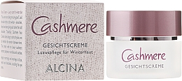 Parfumuri și produse cosmetice Cremă de protecție solară pentru față - Alcina Cashmere Face Cream