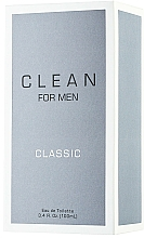 Parfumuri și produse cosmetice Clean Clean For Men Classic - Apă de toaletă