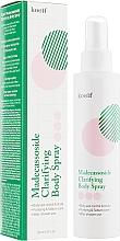 Parfumuri și produse cosmetice Spray de curățare cu madecassoside pentru corp - Petitfee&Koelf Madecassoside Clarifying Body Spray