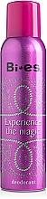 Parfumuri și produse cosmetice Bi-Es Experience The Magic - Deodorant spray