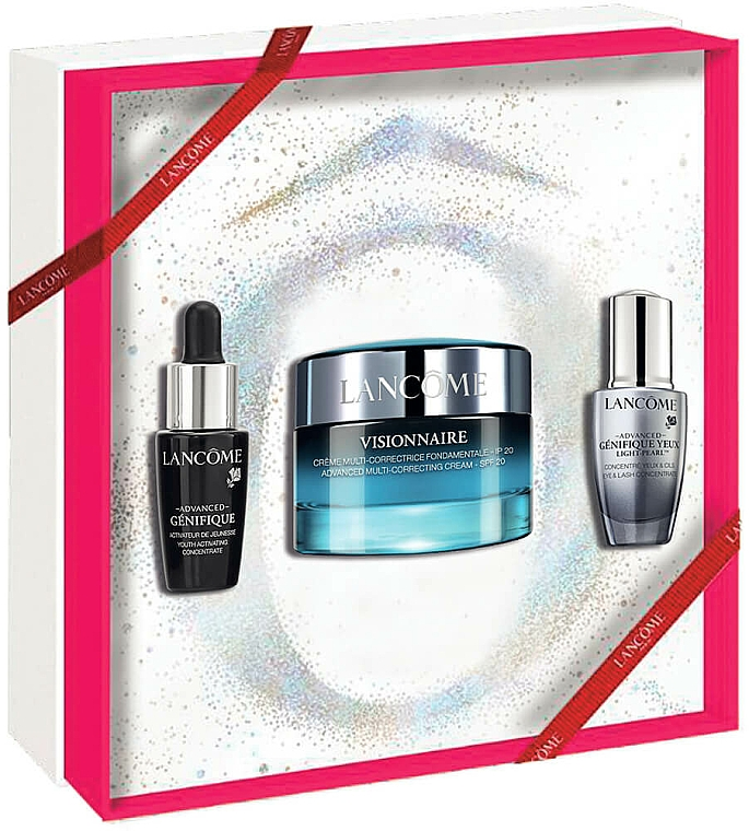 Set - Lancome Visionnaire Gift Set (cr/50ml + conct/7ml + eye/conct/5ml) — Imagine N1