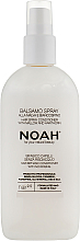 Parfumuri și produse cosmetice Spray balsam pentru păr, fără spălare - Noah Hair Spray Conditioner With Mallow And Hawthorn