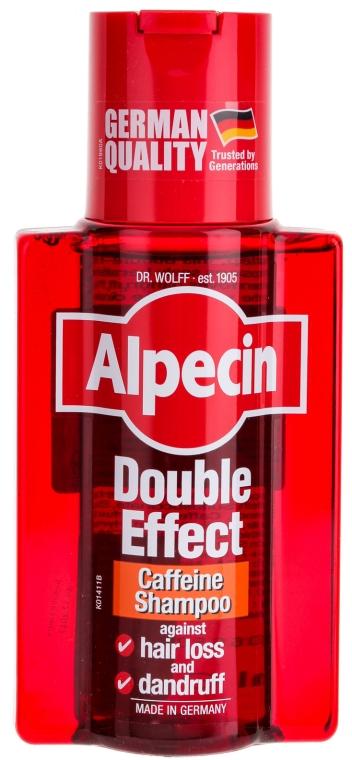Șampon cu cofeină împotriva matreții și căderea părului - Alpecin Double Effect Caffeine Shampoo — Imagine N1