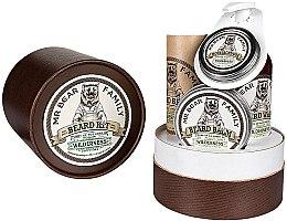 Parfumuri și produse cosmetice Set - Mr. Bear Family Wilderness (oil/30ml + wash/250ml + wax/30ml + balm/60ml)