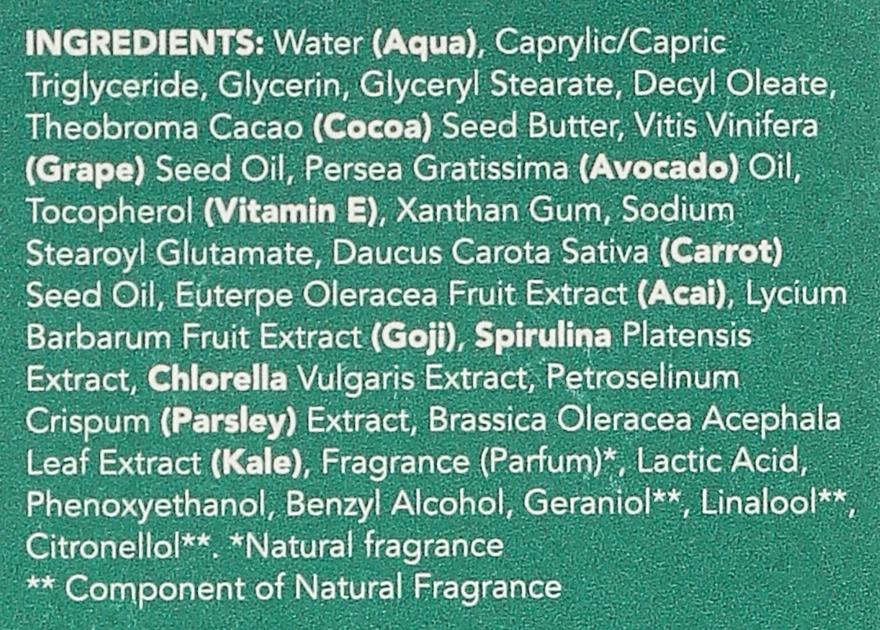 Ser regenerant pentru față - Sukin Super Greens Facial Recovery Serum — Imagine N4