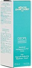 Parfumuri și produse cosmetice Cremă dezodorizantă,pentru creșterea lentă a părului - Methode Jeanne Piaubert Deopil Creme Alcohol-Free Antiperspirant