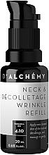 Parfumuri și produse cosmetice Fluid pentru gât și decolteu - D'Alchemy Neck & Decolletage Wrinkle Refill