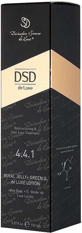 Loțiune cu dublă acțiune Royal Jelly + GreenO2 N 4.4.1 - Simone DSD De Luxe Royal Jelly + GreenO2 Lotion — Imagine N4