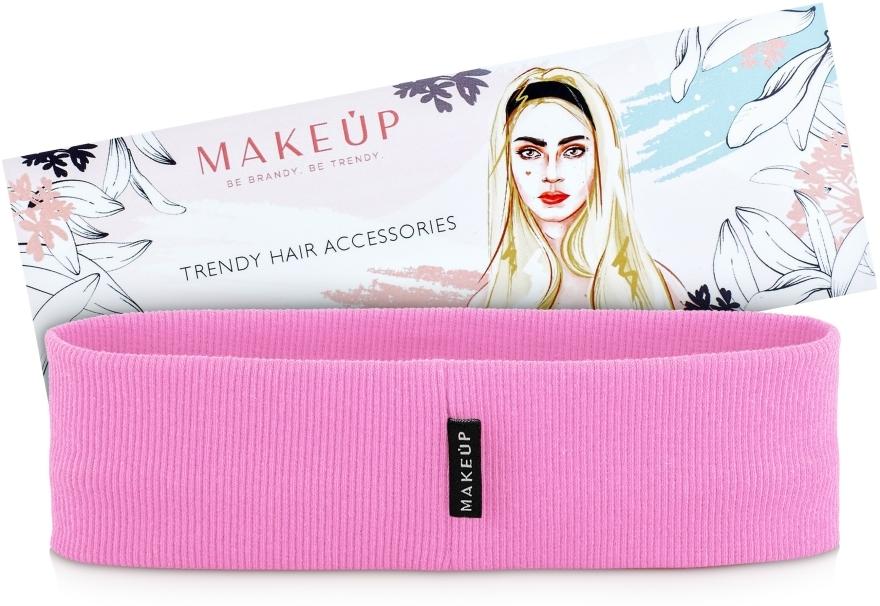 """Bandă elastică pentru păr """"Be Beauty"""", roz - MakeUp"""