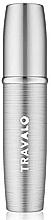 Parfumuri și produse cosmetice Atomizor, argintiu - Travalo Lux Silver Refillable Spray