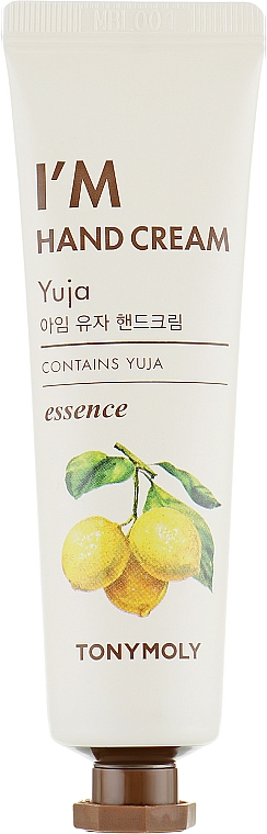 "Cremă de mâini ""Yuzu"" - Tony Moly I'm Hand Cream Yuja"