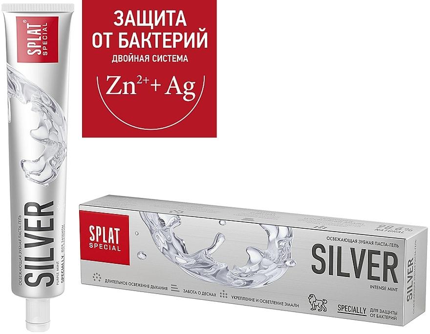 Pastă antibacteriană de dinți, pentru albire delicată - SPLAT Special Silver — Imagine N2