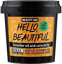 """Parfumuri și produse cosmetice Gel de duș pentru piele sensibilă """"Hello, Beautiful""""  - Beauty Jar Gentle Shover Gel"""