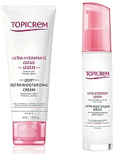 Parfumuri și produse cosmetice Set - Topicrem Skin Care Gift Set (cr/40ml+ser/7ml)