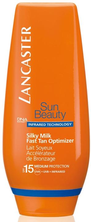 Lapte pentru bronzare - Lancaster Sun Beauty Silky Milk Fast Tan Optimizer SPF15 — Imagine N2