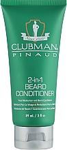 Parfumuri și produse cosmetice Condiţioner-cremă pentru barbă - Clubman Pinaud 2-in-1 Beard Conditioner