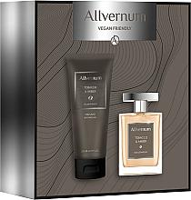 Parfumuri și produse cosmetice Allvernum Tobacco & Amber - Set (edp/100ml + sh/gel/200ml)