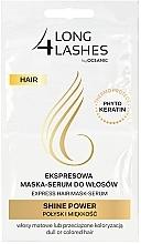 Parfumuri și produse cosmetice Mască-ser pentru păr - Long4Lashes Hair Shine Power