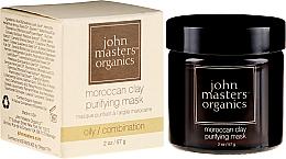 Parfumuri și produse cosmetice Mască de curățare pentru față - John Masters Organics Moroccan Clay Purifying Mask