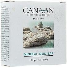 Parfumuri și produse cosmetice Săpun mineral de noroi - Canaan Minerals & Herbs