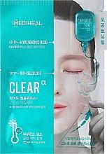 Parfumuri și produse cosmetice Mască cu acid hialuronic - Mediheal Capsule 100 Bio Seconderm Clear Alpha 2 Step Face Mask