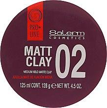 Pomadă matifiantă pentru păr - Salerm Pro Line Matt Clay — Imagine N2