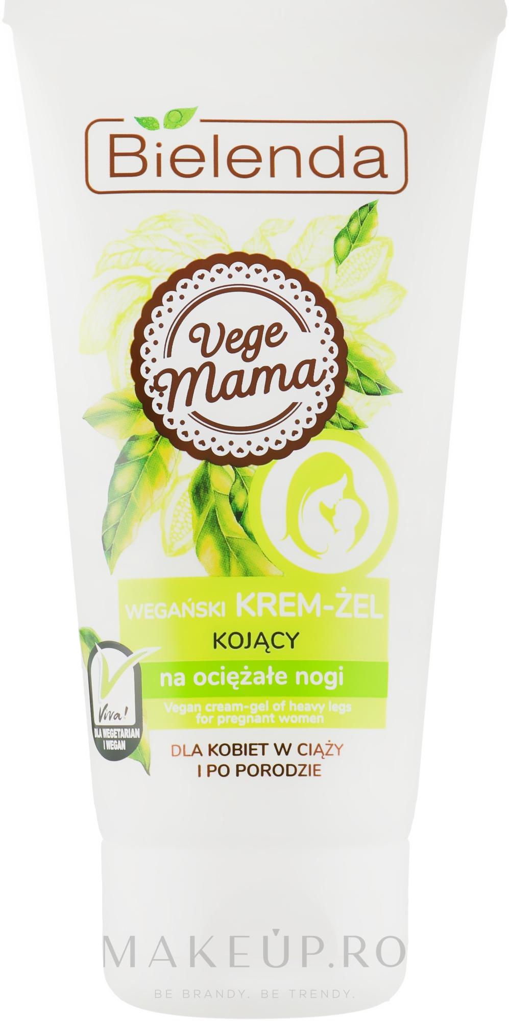 Cremă-gel pentru picioare - Bielenda Vege Mama Cream Foot Gel — Imagine 125 ml
