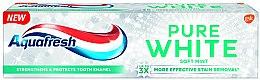 """Parfumuri și produse cosmetice Pastă de dinți cu efect de albire """"Soft mint"""" - Aquafresh Pure White Soft Mint"""