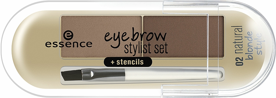 Pudră pentru sprâncene - Essence Eyebrow Stylist