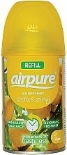 "Parfumuri și produse cosmetice Odorizant de aer ""Energia citricelor"" - Airpure Air-O-Matic Refill Citrus Zing"