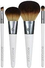 Parfumuri și produse cosmetice Set pensule de machiaj, 4 bucăți - EcoTools On-The Go Style