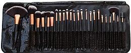 Parfumuri și produse cosmetice Set pensule pentru machiaj, 24 buc - Rio Professional Cosmetic Make Up Brush Set