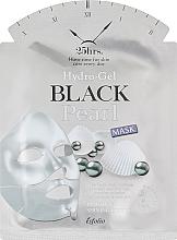 Parfumuri și produse cosmetice Mască-hidrogel cu perle negre pentru față - Esfolio Hydro-Gel Black Pearl Mask