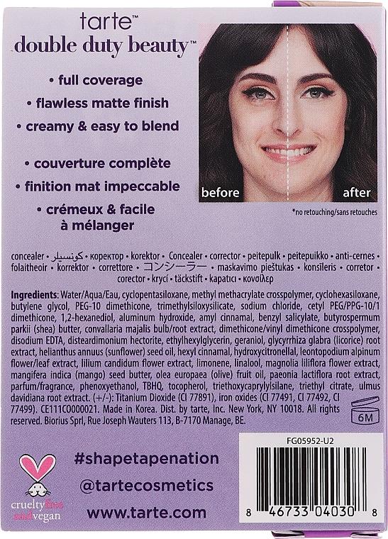 Concealer - Tarte Cosmetics Shape Tape Contour Concealer Travel-Size — Imagine N3