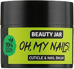 "Parfumuri și produse cosmetice Balsam pentru unghii și cuticule ""Oh My Nails!"" - Beauty Jar Cuticle&Nail Balm"