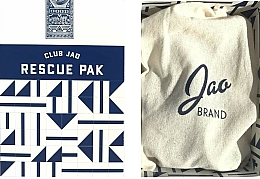 Parfumuri și produse cosmetice Set - Jao Brand Travel Rescue Pak (h/san/59ml + b/butter/18gr + lip/balm/5gr)