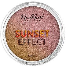 """Parfumuri și produse cosmetice Glitter pentru unghii """"Apus"""" - NeoNail Professional Sunset Effect"""