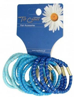 Set elastice de păr, multicolore, 21305 - Top Choice — Imagine N1