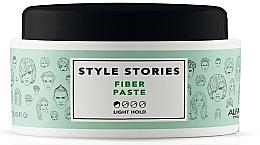 Parfumuri și produse cosmetice Pasta mată cu fixare ușoară pentru păr - Alfaparf Milano Style Stories Fiber Paste Light Hold