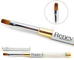 Parfumuri și produse cosmetice Pensulă pentru manichiură, plată - Reney Cosmetics Pro Flat  AN04