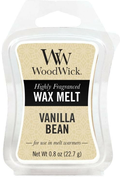 Ceară aromată - WoodWick Wax Melt Vanilla Bean — Imagine N1