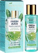 """Parfumuri și produse cosmetice Esență hidratantă pentru față """"Lime"""" - Bielenda Fresh Juice Detoxifying Face Hydro Essence Lime"""