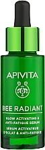 Parfumuri și produse cosmetice Ser hidratant iluminant anti-îmbătrânire - Apivita Bee Radiant Glow Activating & Anti-Fatigue Serum
