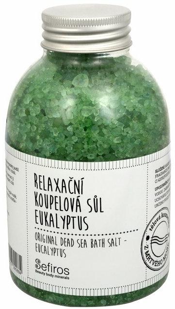Sare de baie - Sefiros Original Dead Sea Eukalyptus Bath Salt — Imagine N1