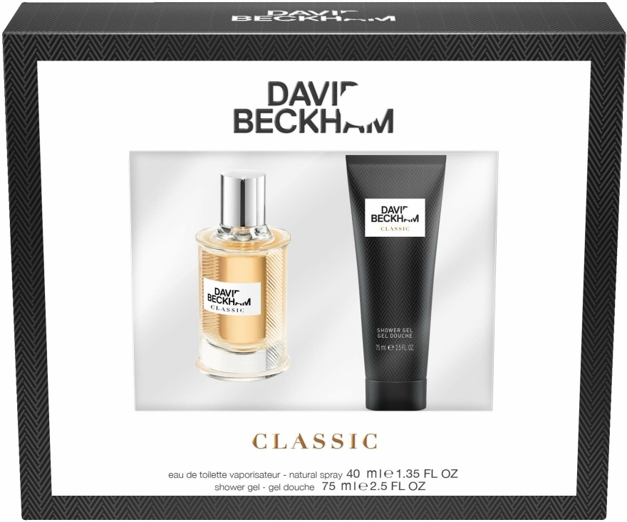 David Beckham Classic - Set (edt/40ml+sh/gel/75ml) — Imagine N1