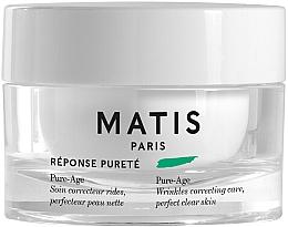 Parfumuri și produse cosmetice Cremă antirid pentru față - Matis Reponse Purete Pure-Age