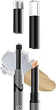 Parfumuri și produse cosmetice Highlighter Concealer în creion pentru pleoape - Gokos Cover&Glow